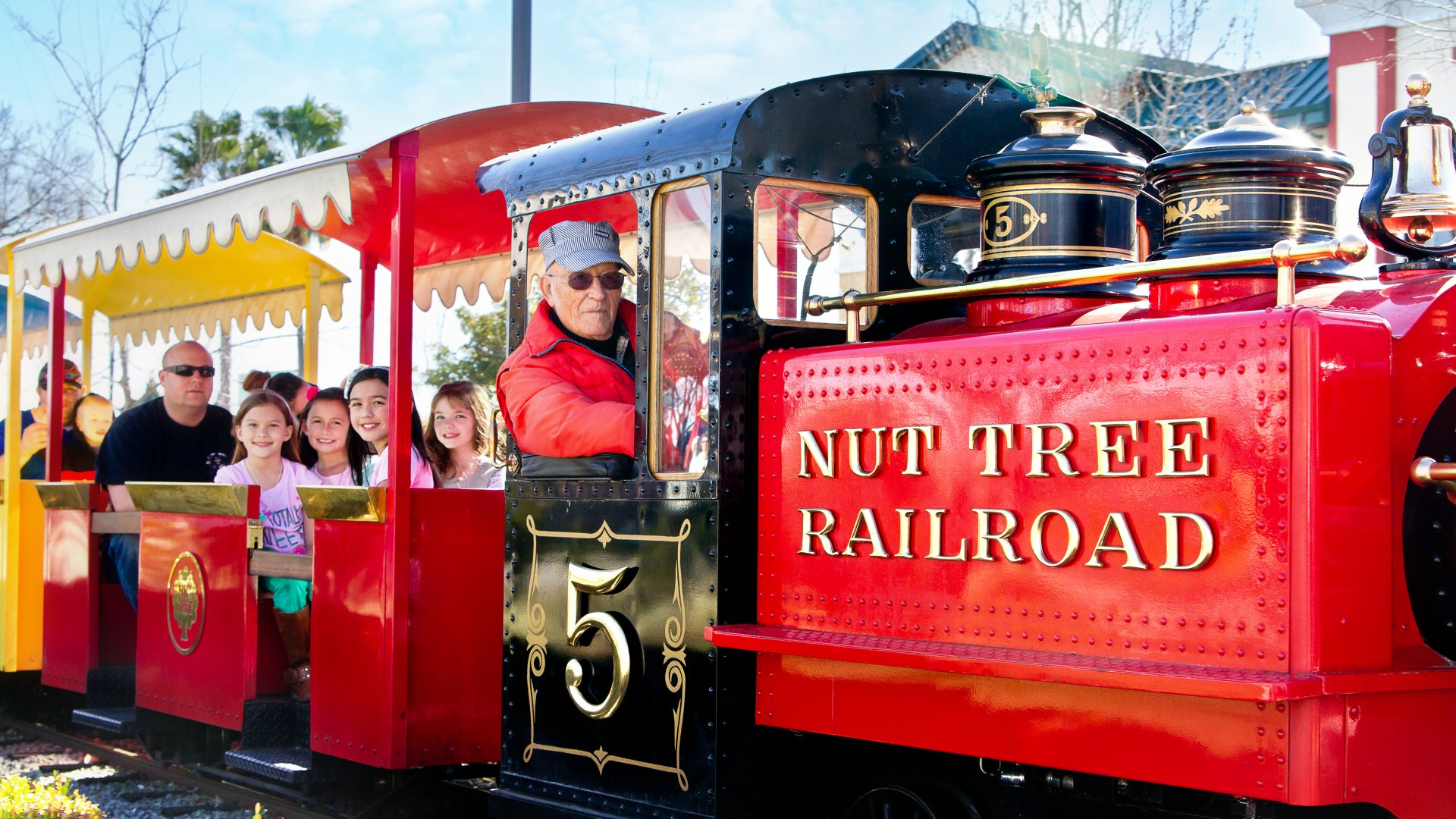 Ride the Famous Nut Tree Railroad
